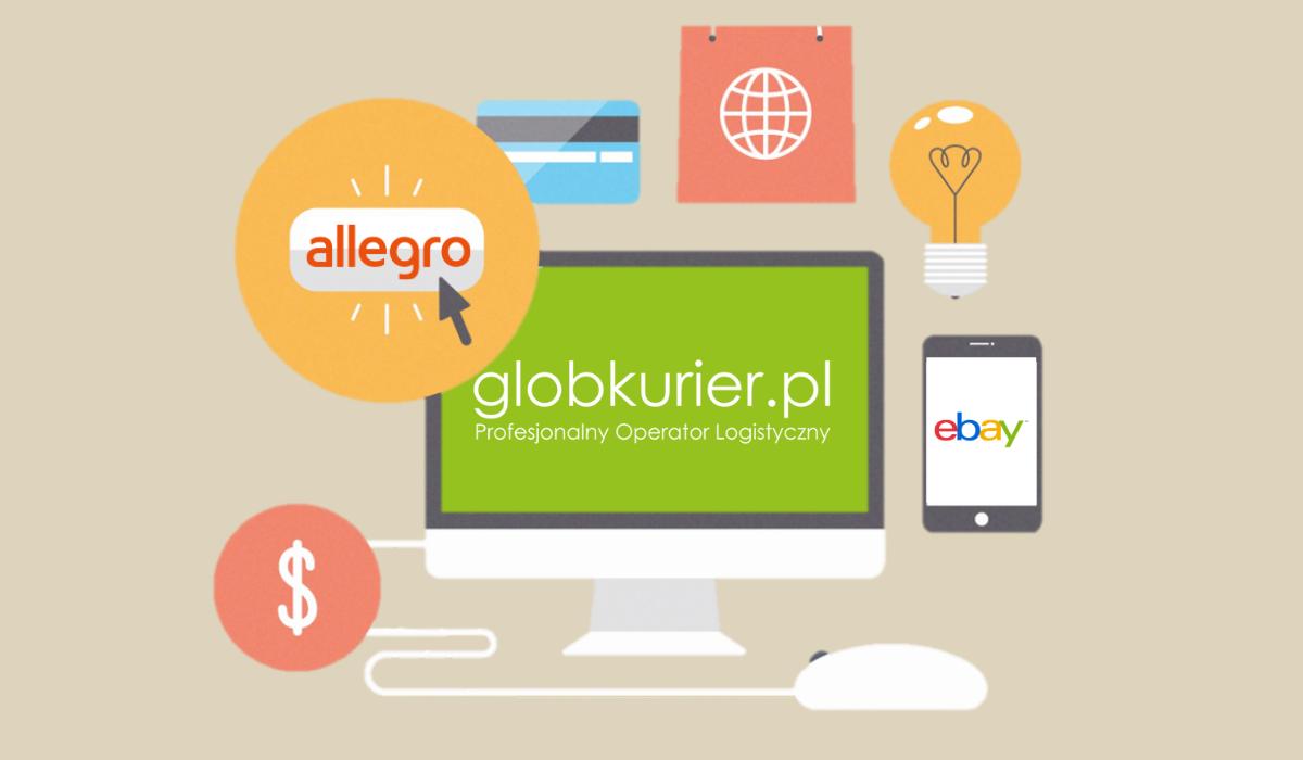 integracja ebay, integracja Allegro, integracja z GlobKurier